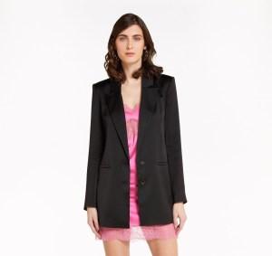 Patrizia Pepe | Giacca lunga blazer taglio maschile 2 bottoni € 378,00