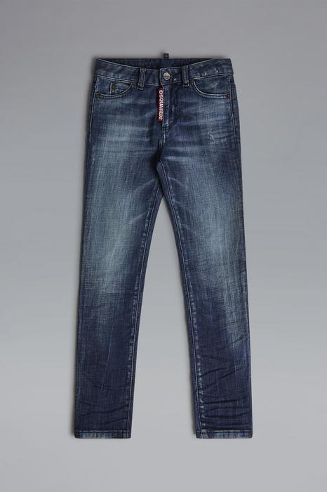 DSQUARED2 Donna 5 pockets Blu Taglia 16 98% Cotone 2% Elastan