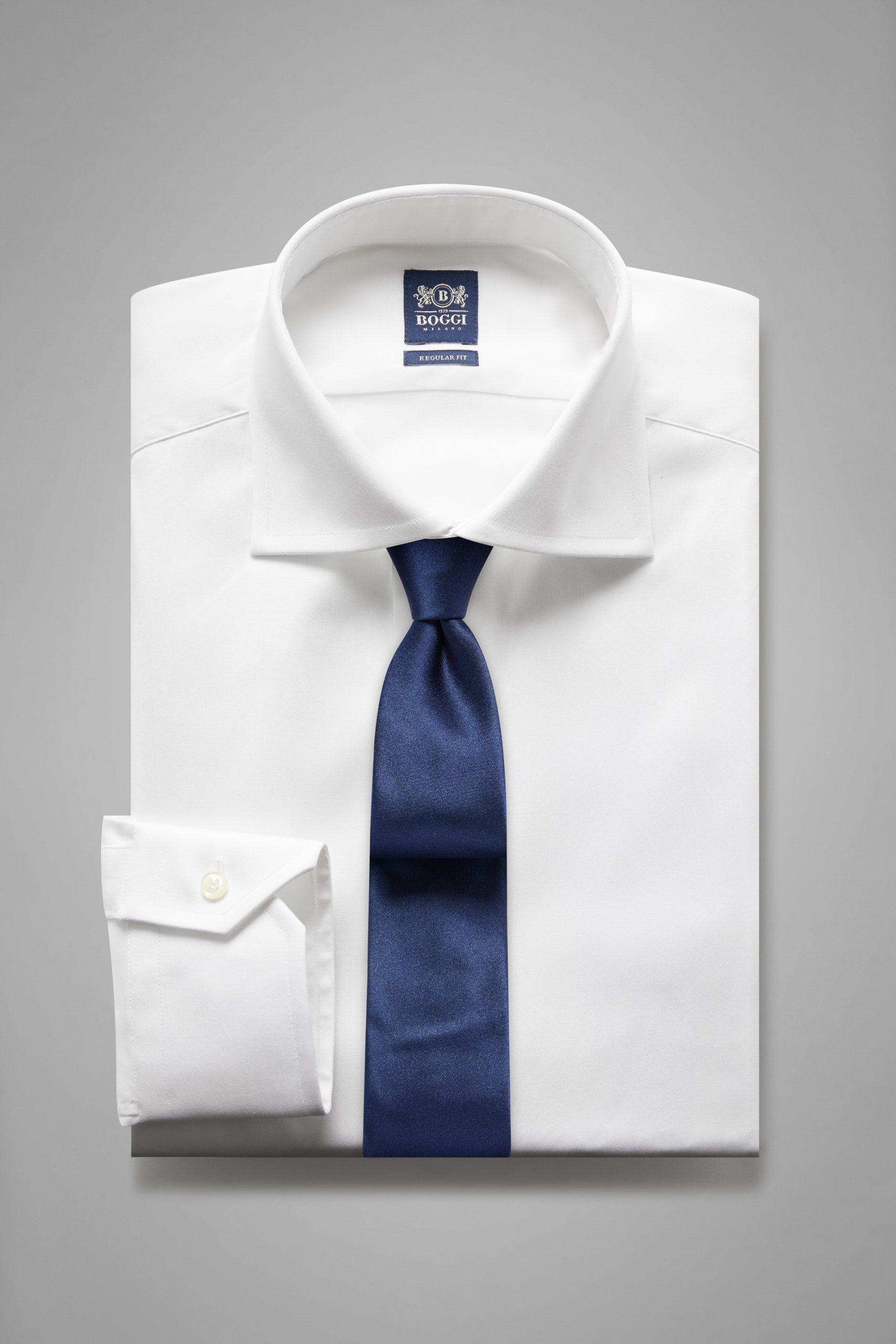 Camicie da uomo in colore Bianco in materiale
