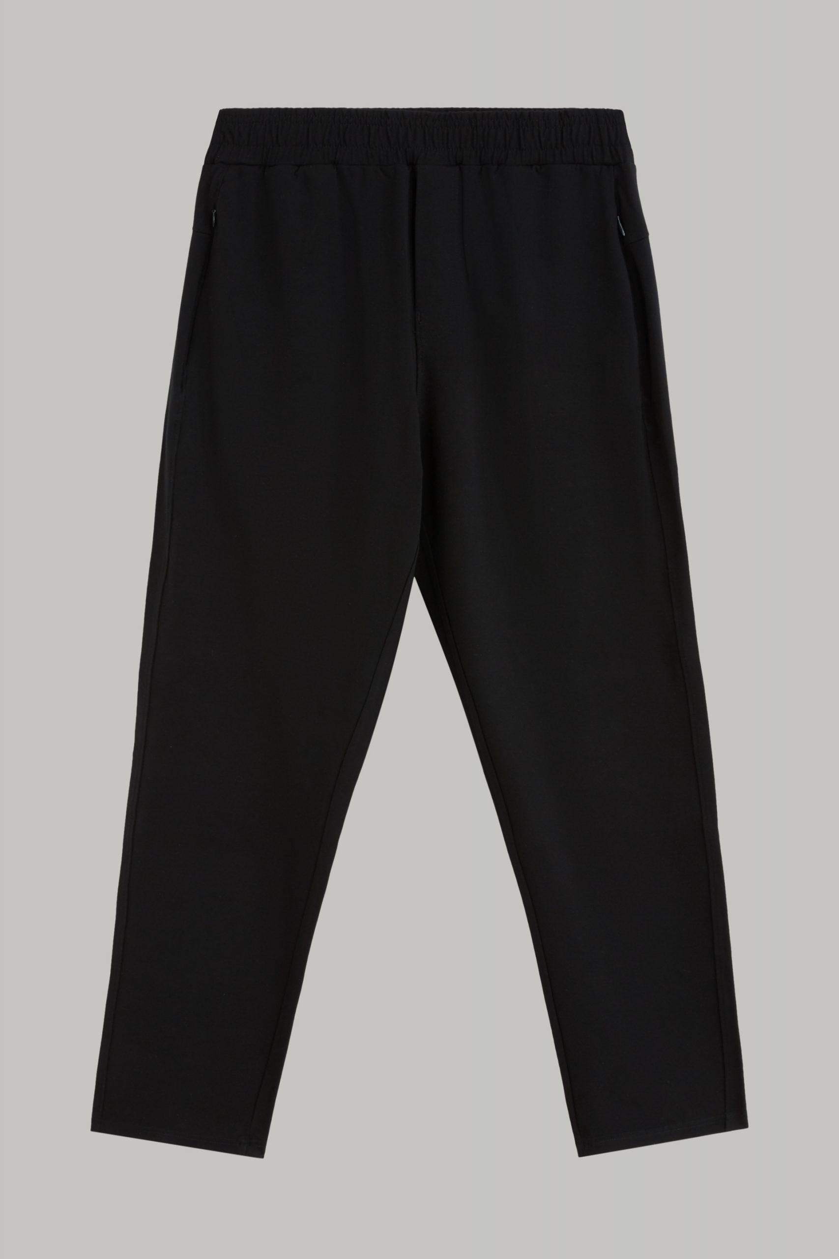 Pantaloni da uomo in colore Nero in materiale