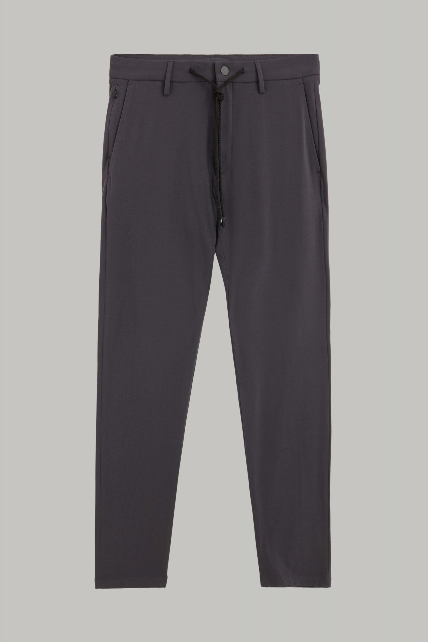 Pantaloni da uomo in colore Antracite in materiale