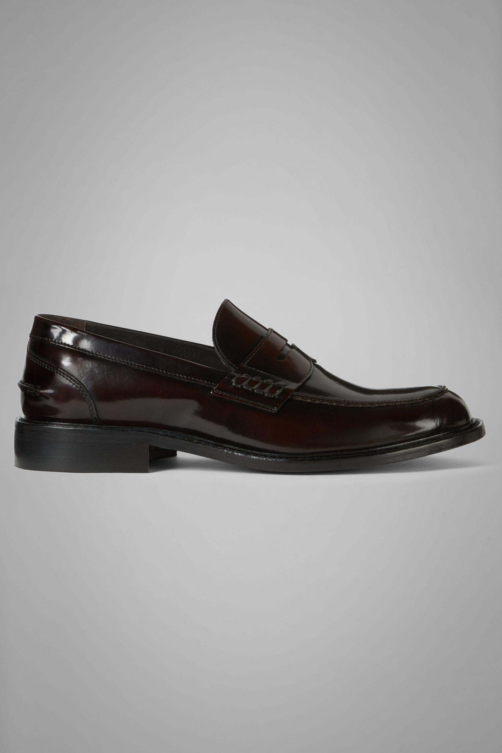 Scarpe Classiche da uomo in colore Bordeaux in materiale