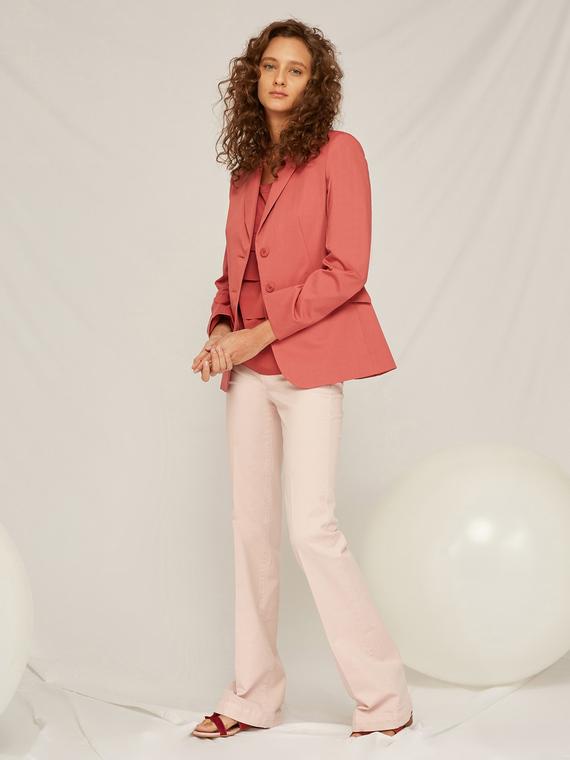 Caractere Cappotti e giacche > Giacche e blazer Rosa - Caractère Giacca blazer Donna Rosa