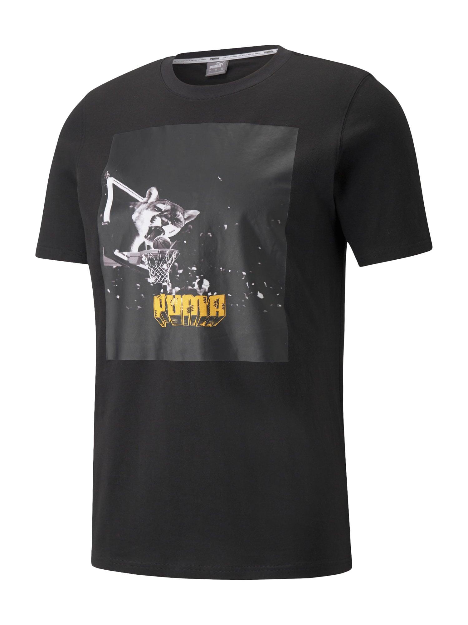 PUMA Maglietta 'Qualifier'  nero / senape / bianco / antracite male shop the look