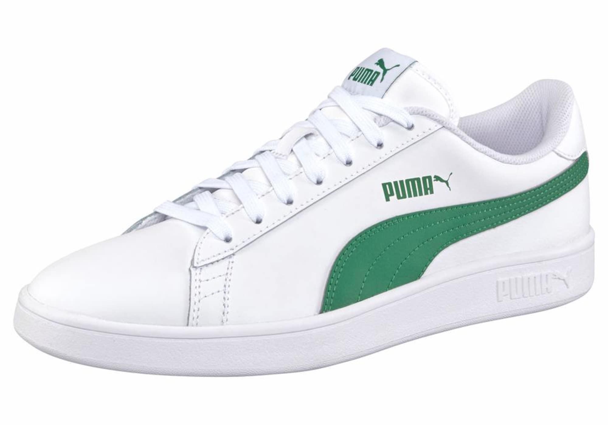 PUMA Sneaker bassa 'Smash V2 L U'  bianco / verde male shop the look