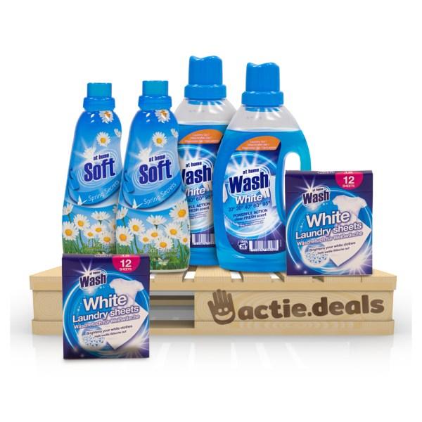 Voordeel At Home Waspakket - Wit (50 wasjes)