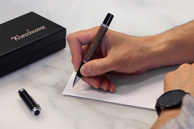 Zo doe je een pen cadeau