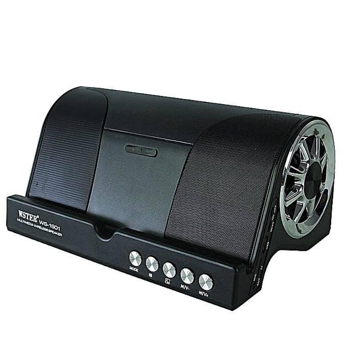 Wster WS-1601 Wireless Bluetooth Speaker – Black