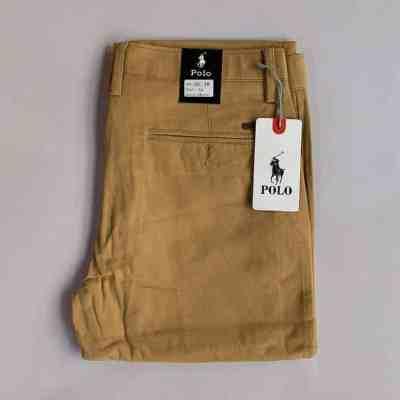 Beige Polo Khaki Trouser