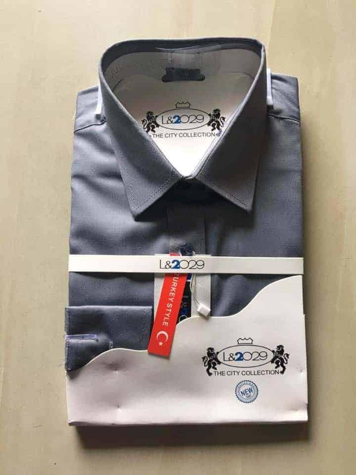 City collection-L&2029 Ash shirt