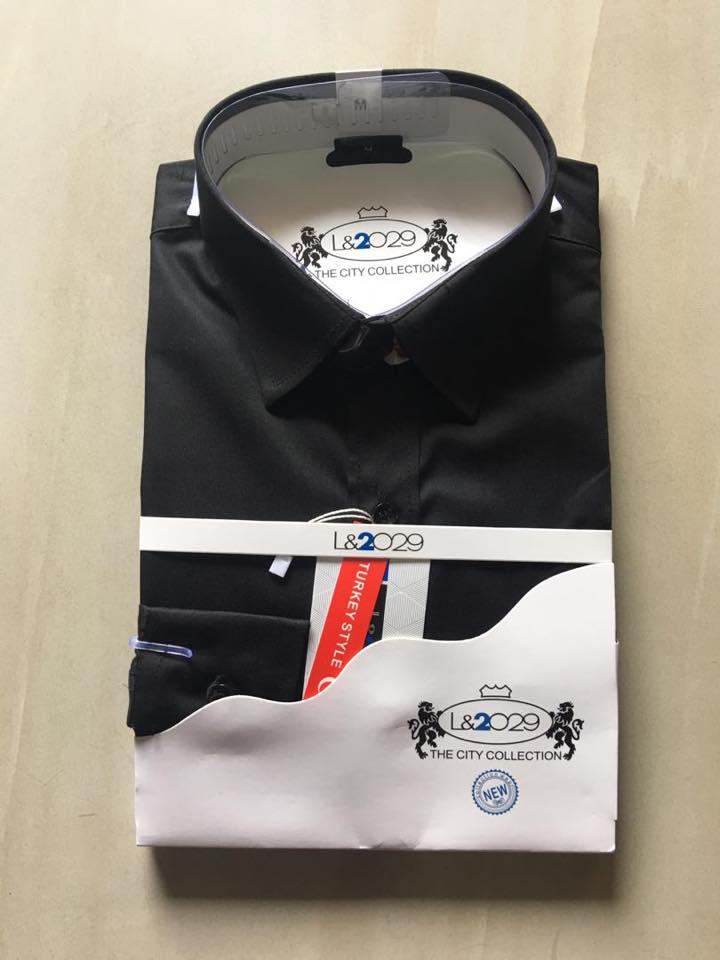 City collection-L&2029 shirt .Black colour