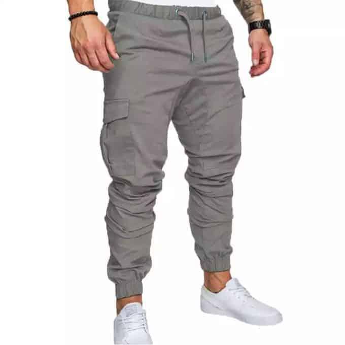 Men's Gray Jogger Pant