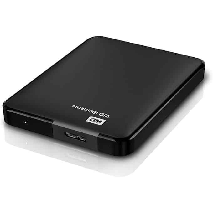 Western Digital USB 3.0 External Hard Drive – 500GB – Black