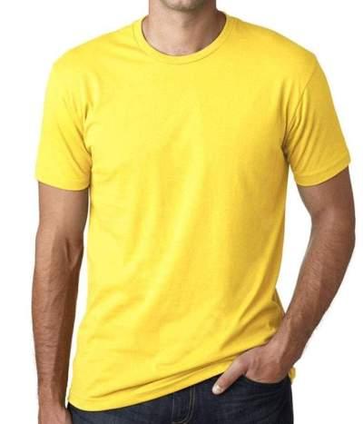 Men's Plain Round Neck T- Shirt