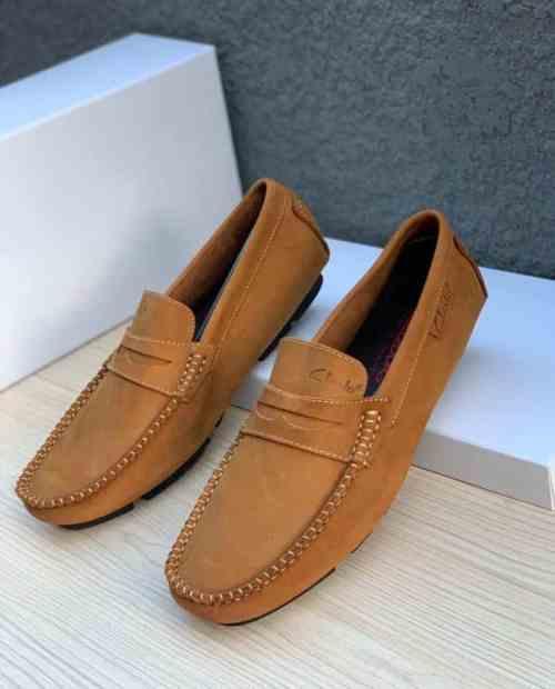 Front Belt Clarks Loafer