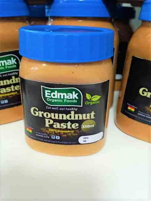 Edmak Organic Groundnut Paste