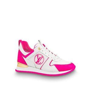 Louis vuitton pink white run away senaer for ladies