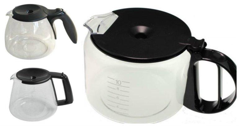 braun glaskande til Braun KF130 Braun KF140 Braun KF145 Braun KF147 Braun KF180 kande til braun kaffemaskine - Kande til Braun kaffemaskine