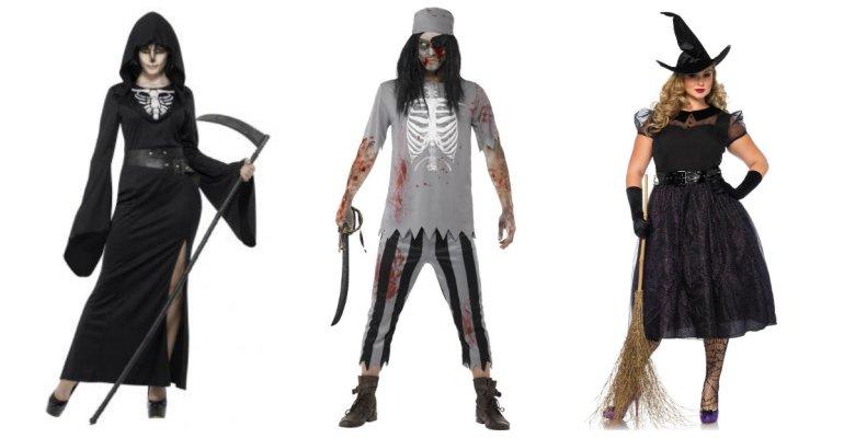plus size kostume halloween kostume 2xl 3xl døden kostume plus size heks kostume plus size udklædning - Plus size kostumer