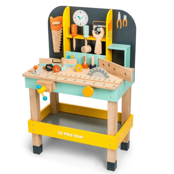 arbejdsbænk til børn børneværksted værktøjsbænk til børn Le top van redskabsbænk arbejdsbænk gave til 2 årig dreng gave til 3 årig dreng.