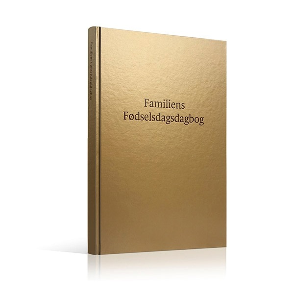 familiens fødselsdagsdagbog tradition skaber barndomsminder shopwise anekdoter børnefødselsdag familietraditioner dagbog fra barnets fødselsdage