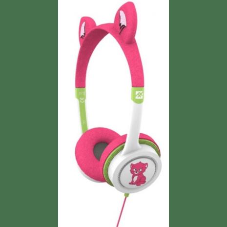 høretelefoner til børn piger headset til børn kat høretelefoner til børn blå pink høretelefoner til børn little rockerz hørebøffer kattekilling høretelefoner