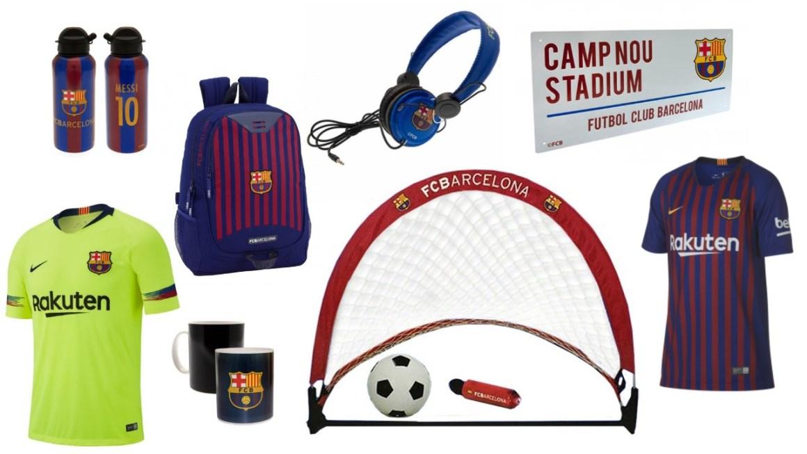 FC Barcelona merchandise gave til barcelona fan gave til fodbolddreng