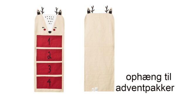 Ophæng til adventpakker inspiration adventspakker ophæng adventsgaver 2020 600x338 - Pakkekalender ophæng