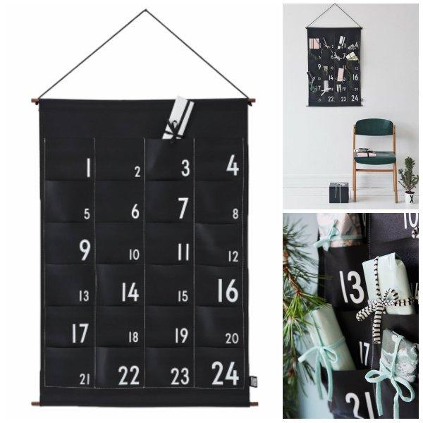 design letters julekalender design letters pakkekalender med lommer design letters pakkekalender 24 lommer til pakkekalendergaver 600x600 - Pakkekalender ophæng