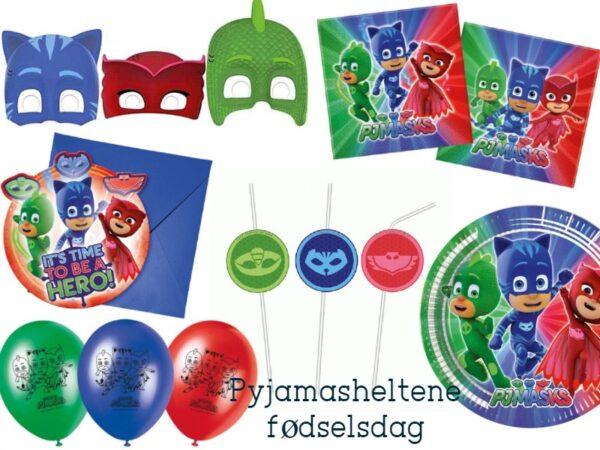 pyjamasheltene fødselsdag PJ masks fødselsdag PJ masks børnefødselsdag 600x450 - PJ Masks - Pyjamasheltene fødselsdag