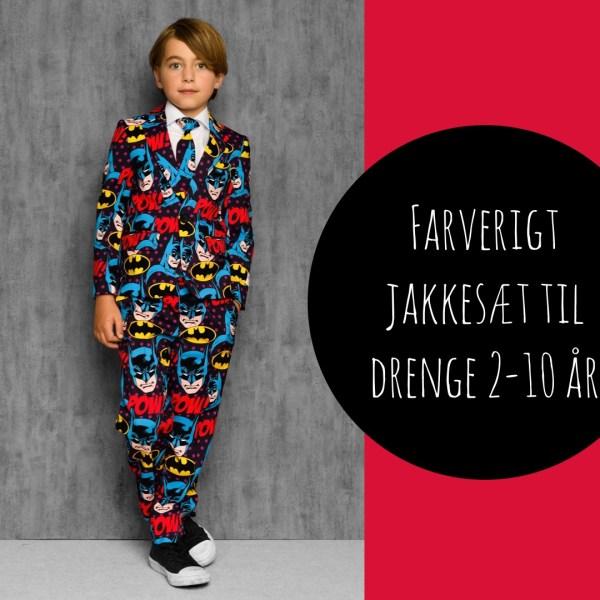 batman jakkesæt til børn superhelt jakkesæt til drenge