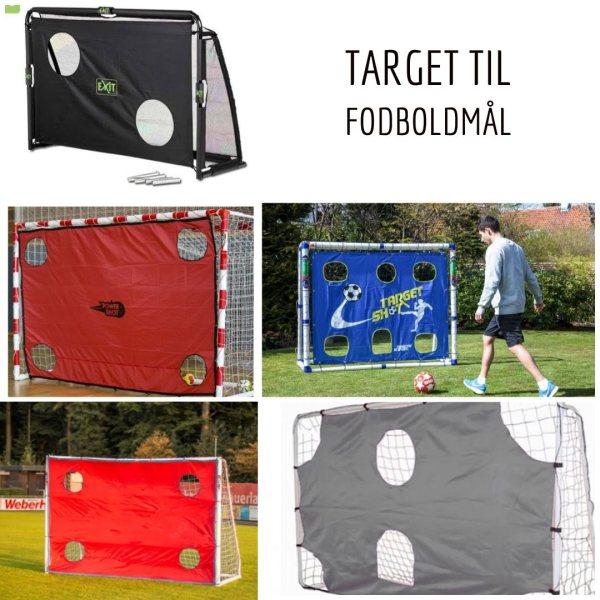 targetdug til fodboldmål targetmål træning hjemme target skudtræning target præcisionstræning