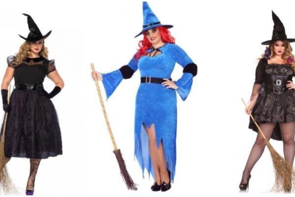 Plus size Halloween kostumer