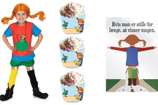 Pippi Langstrømpe tema