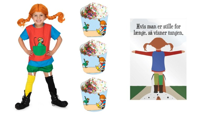pippi langstrømpe kosume pippi langstrømpe plakat pippi muffins
