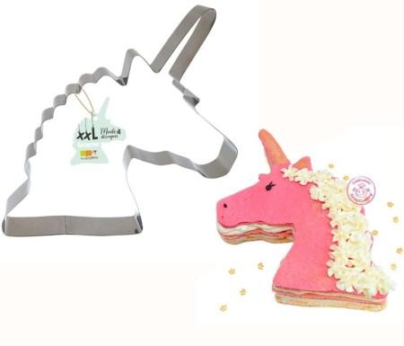 unicorn kageudstikker til unicorn lagkage børnefødselsdag