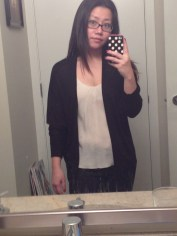 Black cardigan from RIcki's. Only $12.50