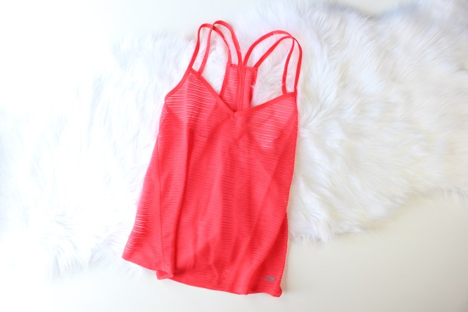 shop with kendallyn top blogger ellie active wear subscription box August box workout tank top