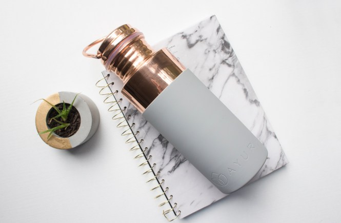 Shop with Kendallyn Blog, Top Lifestyle Blog, AYUR Copper Insulated Water Bottle Review, Gift Idea