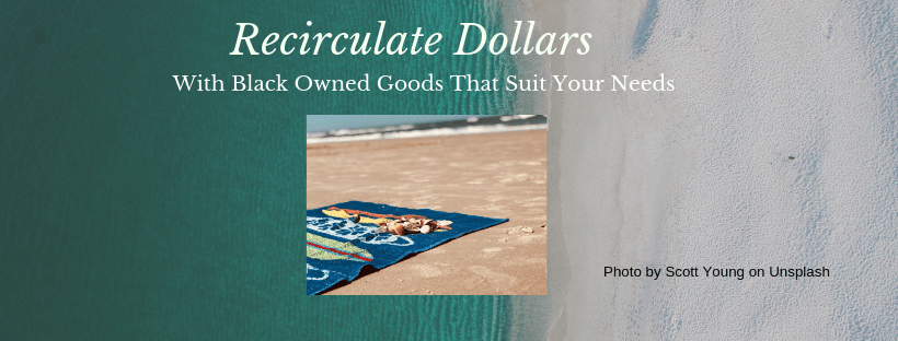 beach towel from canva