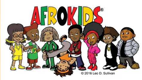 The characters of Afrokids are presented.