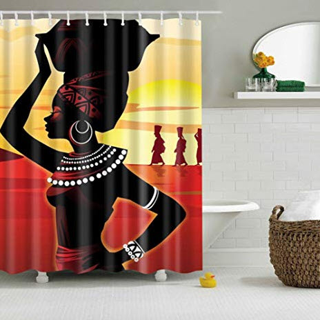 She's a Queen Shower Curtain