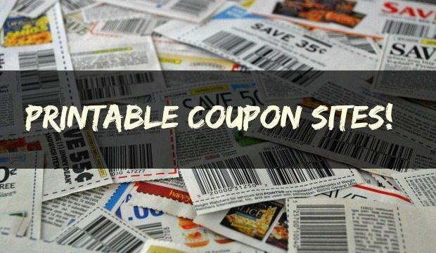 Printable Coupon Sites!
