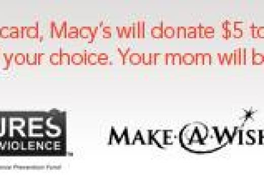 "Macy's ""Thank A Mom Movement"""