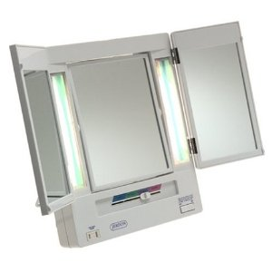 Jerdon Tri-Fold Lighted Mirror Review