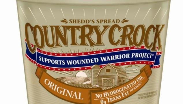 Country Crock & Wounded Warrior