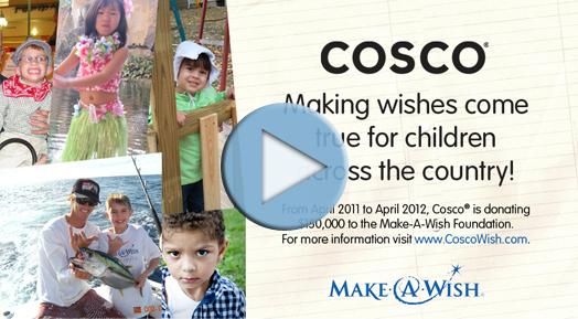 COSCO Juvenile & Make-A-Wish Make Wishes Come True!