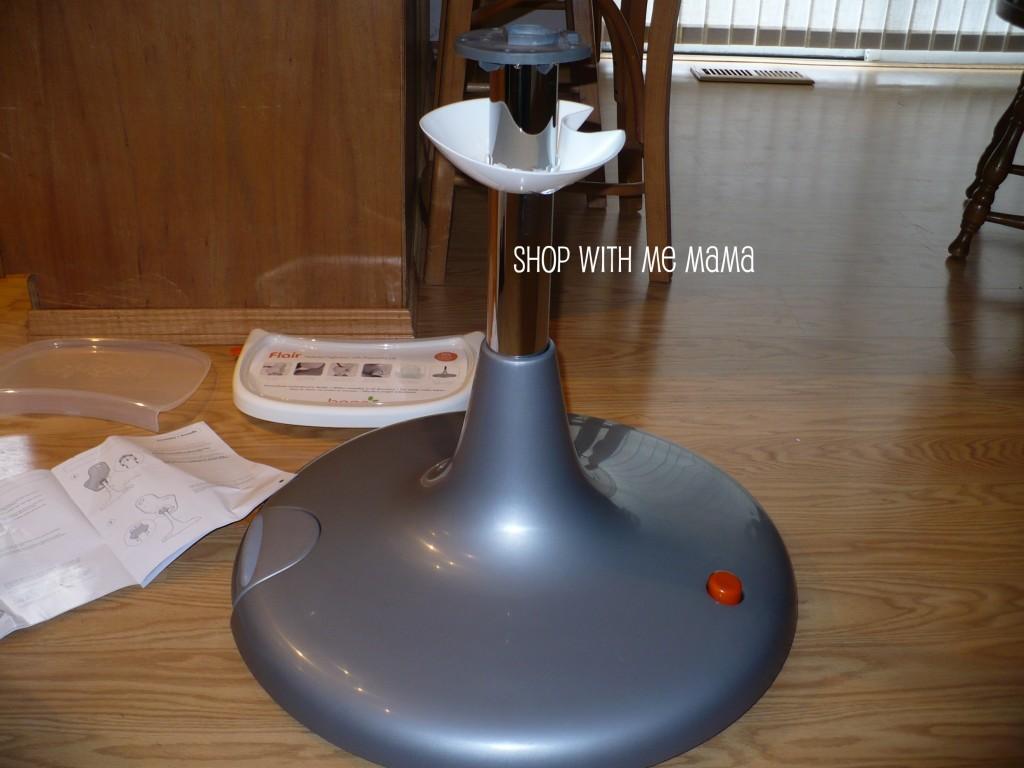 Boon Flair Pedestal Highchair Review