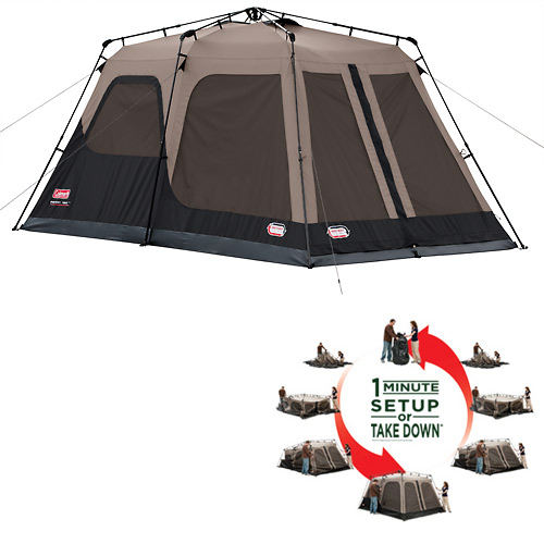 Coleman All-New Instant Tent Review