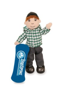 Boysterous Boy Slope Shreddin Sean From Manhattan Toys